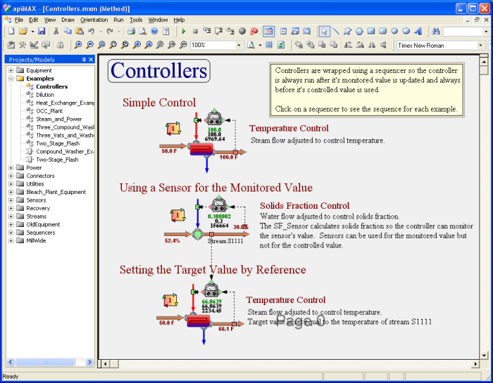 Examples Controllers